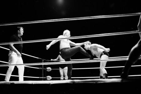 Austin kicks Shane