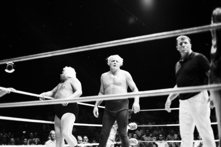 Ripper and Killer in the ring.