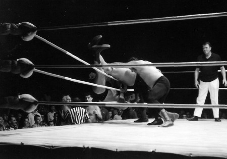 Nick Bockwinkel is eliminated by Austin and Montero