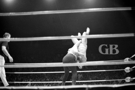Iaukea's turn to Body Slam Pedro Morales.