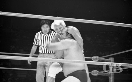 Blassie uses his