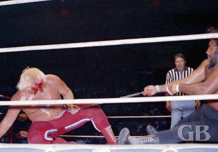 A bleeding Maddog Mayne gets his comeuppance as Iaukea regains the advantage