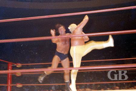 Both wrestlers perform the Civic Auditorium Ballet
