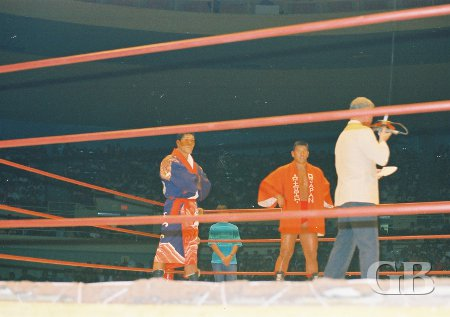 Giant Baba and Sakaguchi