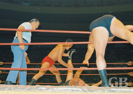 Giant Baba and Jack Bence