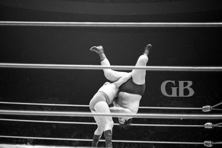 Body slamming the 350+ pound Iaukea.