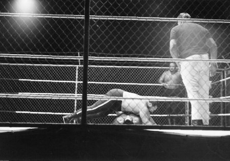 Gorilla Monsoon covers Morales