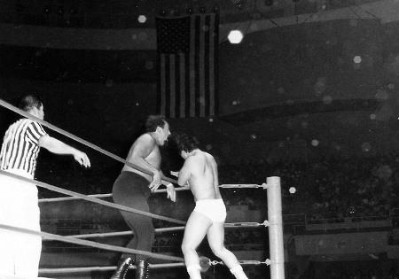 Hahn Lee belts Curtis Iaukea